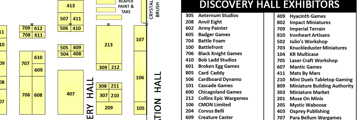 Exhibitor Hall Map