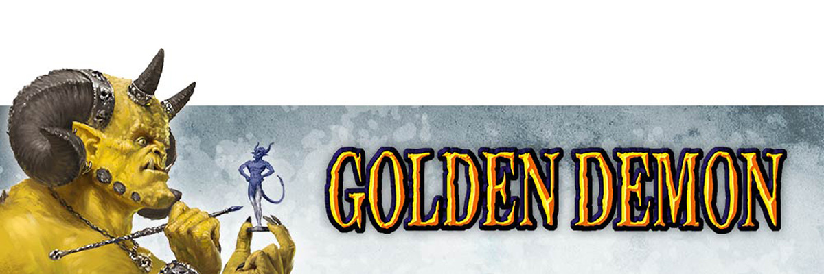 Golden Demon Categories, Guidelines, and Entry Form