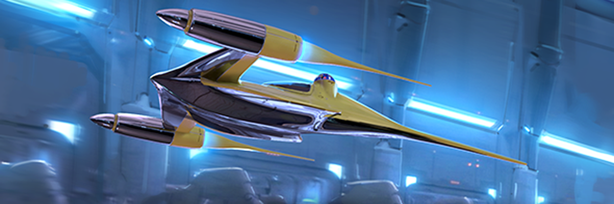 Limited Edition Naboo Royal N-1 Starfighter Expansion Pack Available at AdeptiCon!
